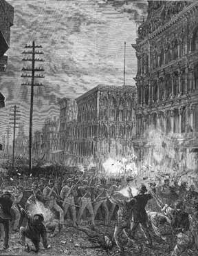 The National Guard in the Great Railroad Strike of 1877