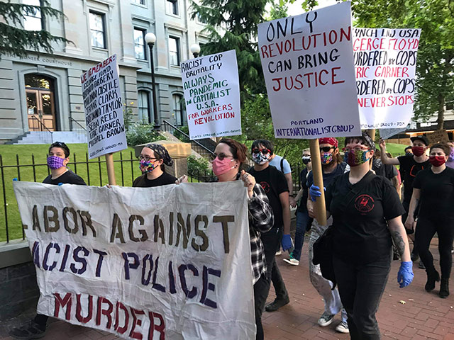 Class Struggle Workers - Portland and Internationalist