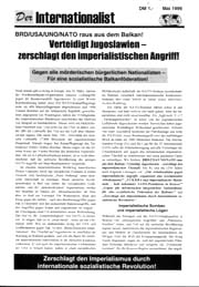 Der Internationalist Nr. 1