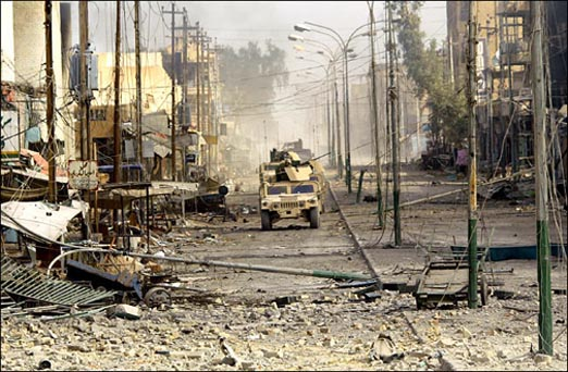 Destruction of Falluja, 14 November 2004