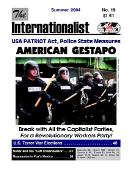 Internationalist No. 19 (Summer 2004)