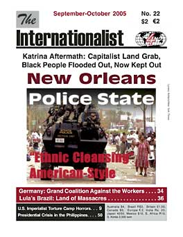 Internationalist No. 22 (Sept.-Oct. 2005)