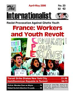 Internationalist No. 23 (April-May 2006)