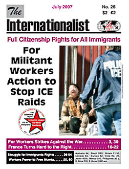 Internationalist No. 26 (July 2007)