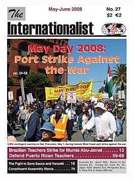 Internationalist No. 27 (May-June 2008)
