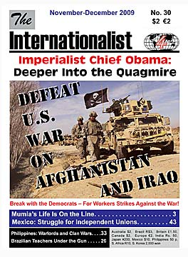 Internationalist No. 30 (November-December 2009)