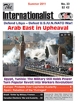 Internationalist                         No. 33 (Summer 2010)