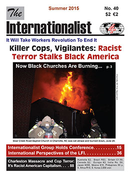 Internationalist                         No. 40 (Summer 2015)