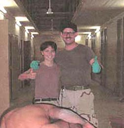 Two of the Abu Ghraib torturers