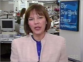Judith Miller on PBS, August 2002
