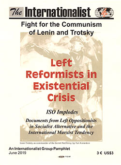Left Reformists in Existential Crisis pamphlet