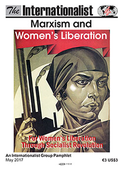 Marxism and Women's Liberation                         Internationalist pamphlet cover