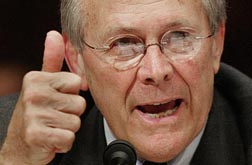 Rumsfeld testifies to Congress, 7 May